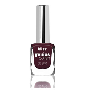 bliss genius nail polish (the lady is a vamp)