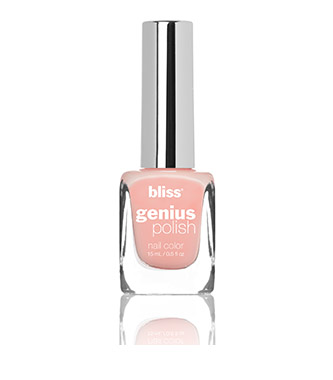 bliss genius nail polish (melon out)