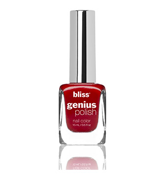 bliss genius nail polish (all i want for crimson)
