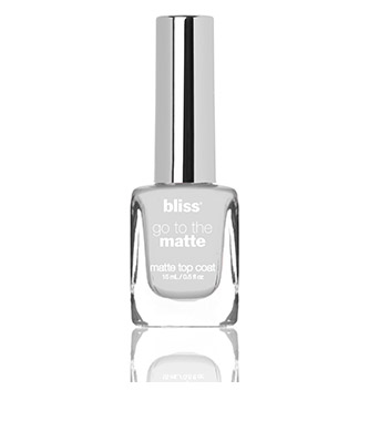 bliss go to the matte top coat