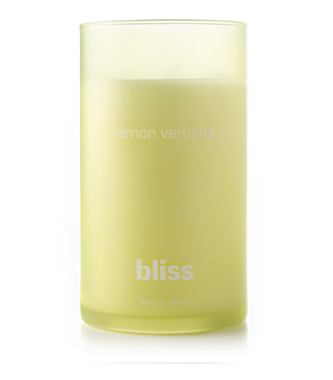 bliss lemon verbena candle 18.5 oz