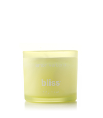 bliss lemon verbena candle 4 oz