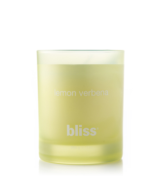 bliss lemon verbena candle 9 oz