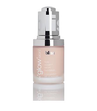 bliss ex-'glow'-sion serum foundation + spf 20