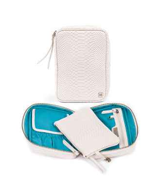 hudson+bleecker genoa avion cosmetic case