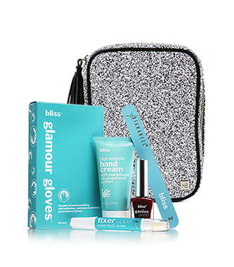 bliss x hudson+bleecker star treatment manicure kit