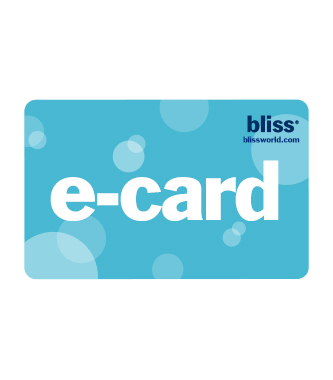 bliss e-gift card