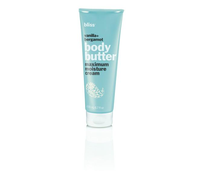 bliss paraben free vanillabergamot body butter