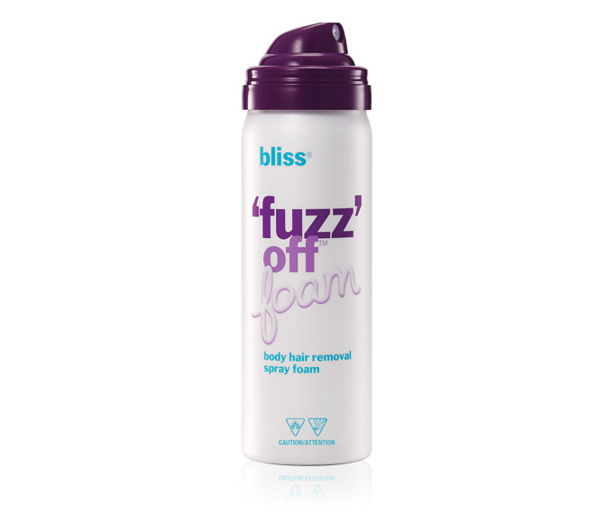 bliss fuzz off foam travel size 40441