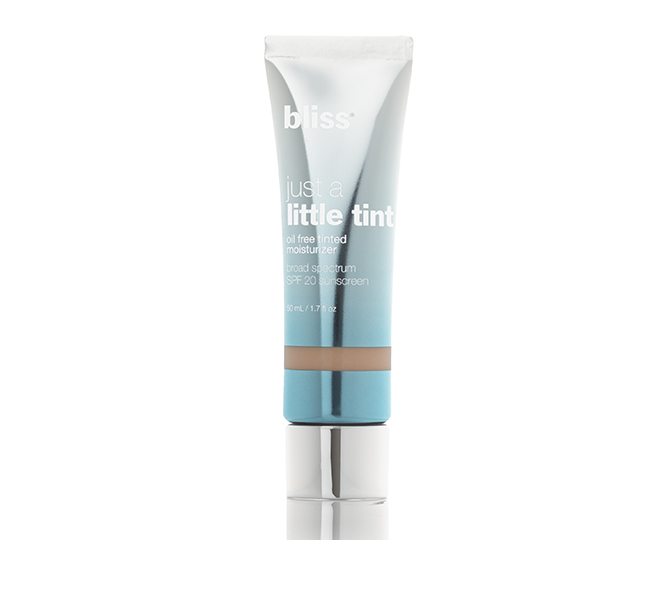 bliss just a little tint tinted moisturizer SPF 20 (almond) 42616