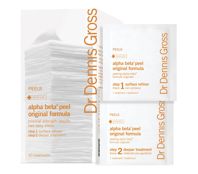 dr. dennis gross alpha betaa daily face peel 30 packettes
