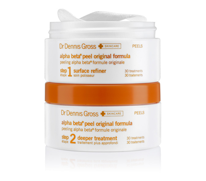 dr. dennis gross alpha betaa daily face peel 2 part system