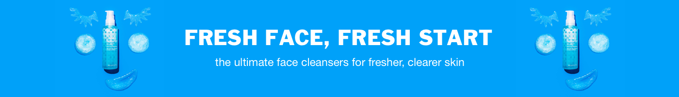 shop bliss face cleansers