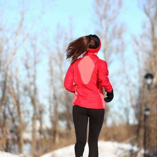 Baby, it's cold outside - but go for a run anyway!