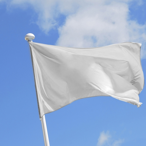 Waving the white flag in the battle agai...