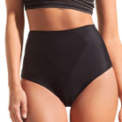 dMondaine lana high-waist brief (black)