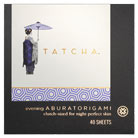 tatcha aburatorigami japanese beauty papers (evening)