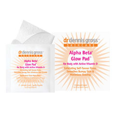 dr. dennis gross skincare alpha beta® glow pad™ for body