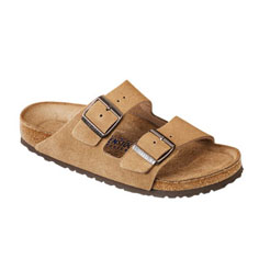 birkenstock arizona soft footbed sandal (jasper)