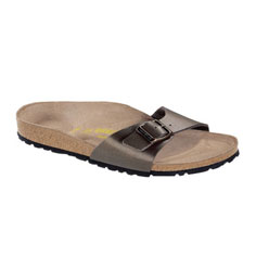 birkenstock madrid sandal (golden brown)