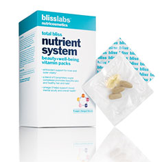 blisslabs™ nutricosmetics total bliss nutrient system