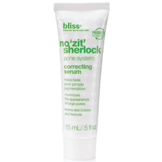 bliss no zit sherlock correcting serum 15ml