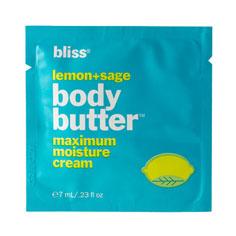 bliss lemon + sage body butter 7ml