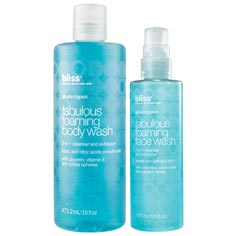 bliss fabulous face + body bundle