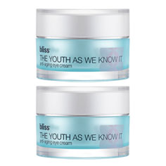bliss the youth as we know it eye cream set of 2