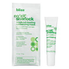 bliss 'zit no more' mask + spot treatment duo