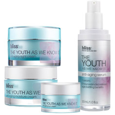 bliss the youth as we know it spa-at-home set
