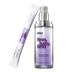 bliss firm, baby, firm total eye system and serum set
