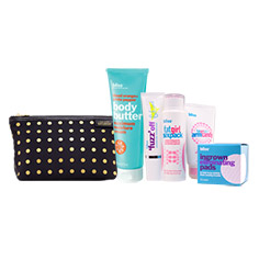 bliss + kate spade saturday beach body essentials