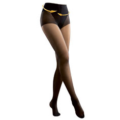 ccv flat tummy tights (black)