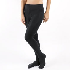 shape & slim opaque tights (black)