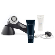 clarisonic aria + time for men elemis cleanser set