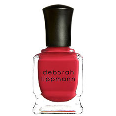 deborah lippmann nail lacquer (it's raining men)