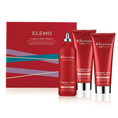 elemis frangipani body indulgence collection