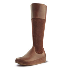 FitFlop Charley Boot (toffee suede / leather)