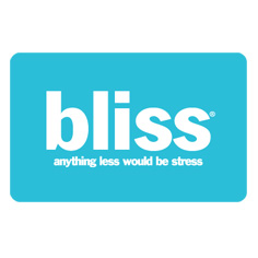 bliss gift card