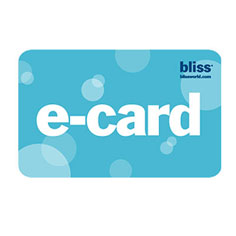 bliss virtual e-card