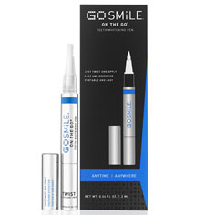 go smile on-the-go teeth whitening pen