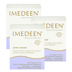 imedeen prime renewal for post-menopausal skin, ages 50+ (3 month supply)