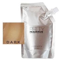 prtty peaushun skin tight body lotion 8 oz (dark)