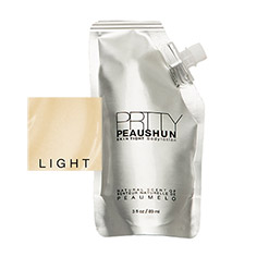 prtty peaushun skin tight body lotion travel size (light)