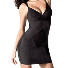 dMondaine marilyn full slip (black)