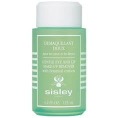sisley gentle eye and lip make-up remover
