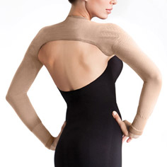 solidea silver slimming sleeves (nude)
