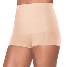 spanx haute contour® shorty (nude)