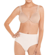 spanx bra-llelujah! soft touch underwire contour bra (natural)